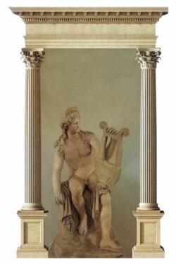 PRO ROMANIS ART Apollo God of Music - Color