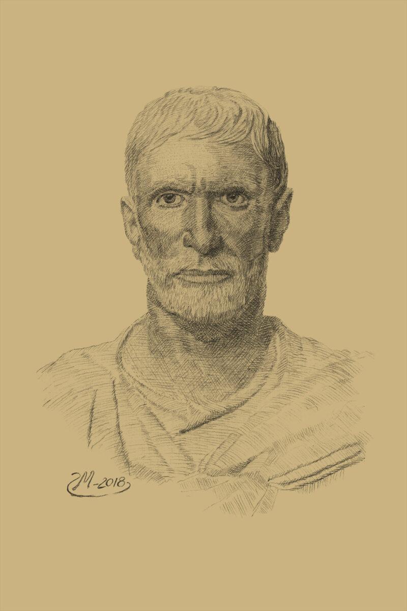 PRO ROMANIS ART Brutus - Sepia
