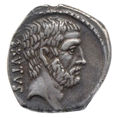 Coin minted by Brutus
