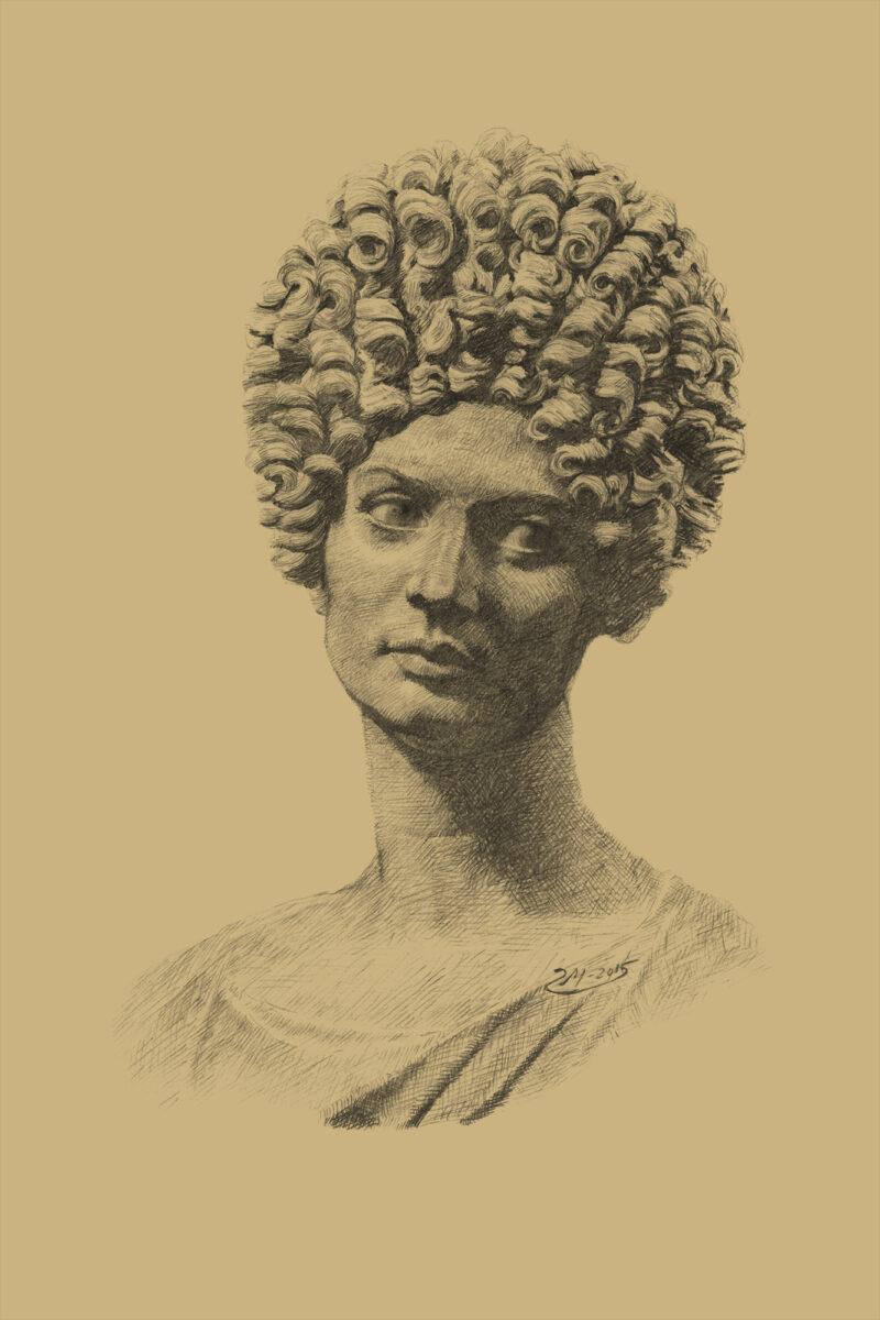 PRO ROMANIS ART Capitoline Beauty - Sepia