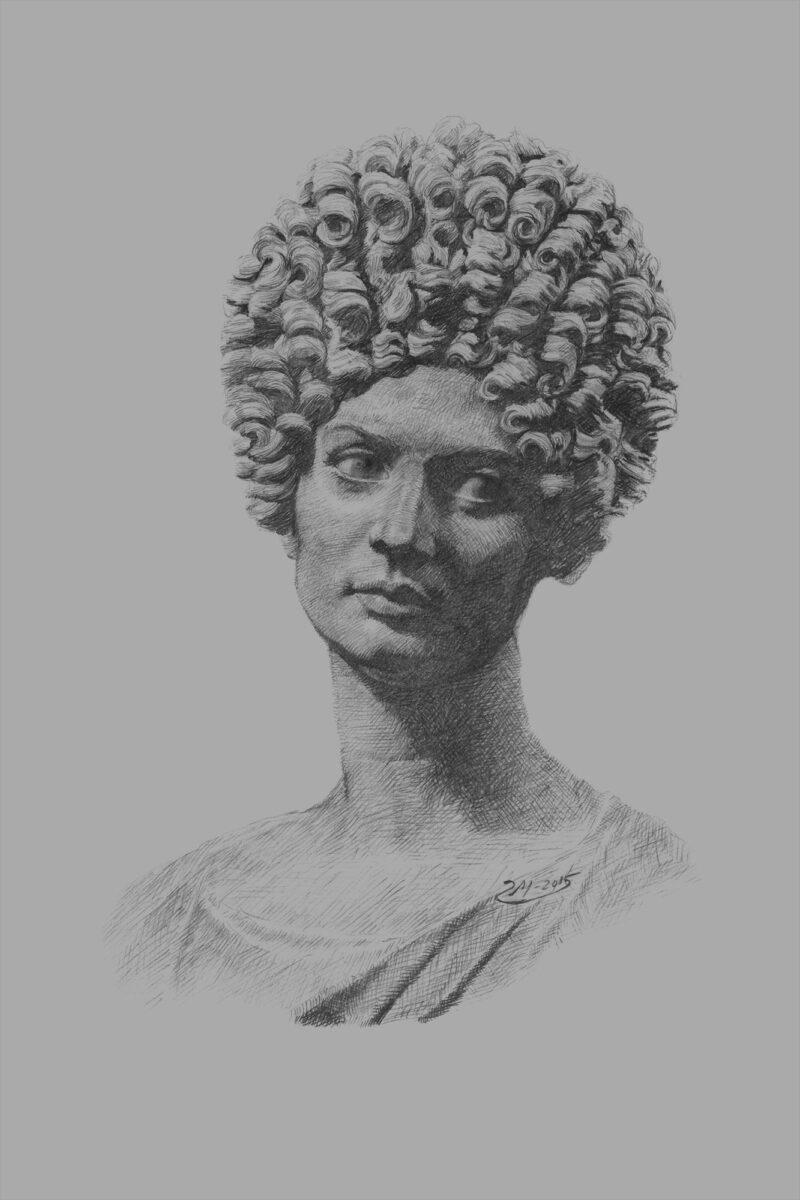 PRO ROMANIS ART Capitoline Beauty - B&W