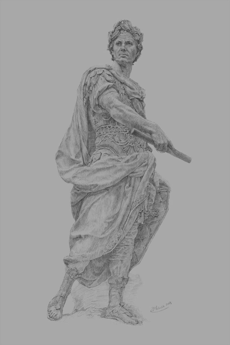 Gaius Julius Caesar - Gray