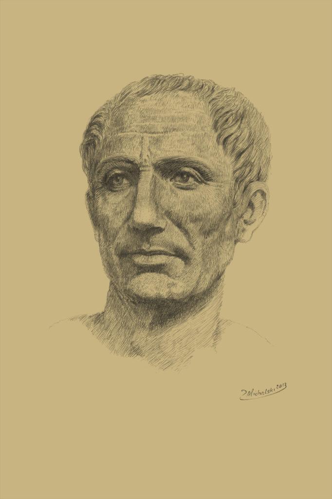 Gaius Julius Caesar portrait