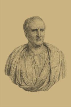 PRO ROMANIS ART Marcus Tullius Cicero - Sepia