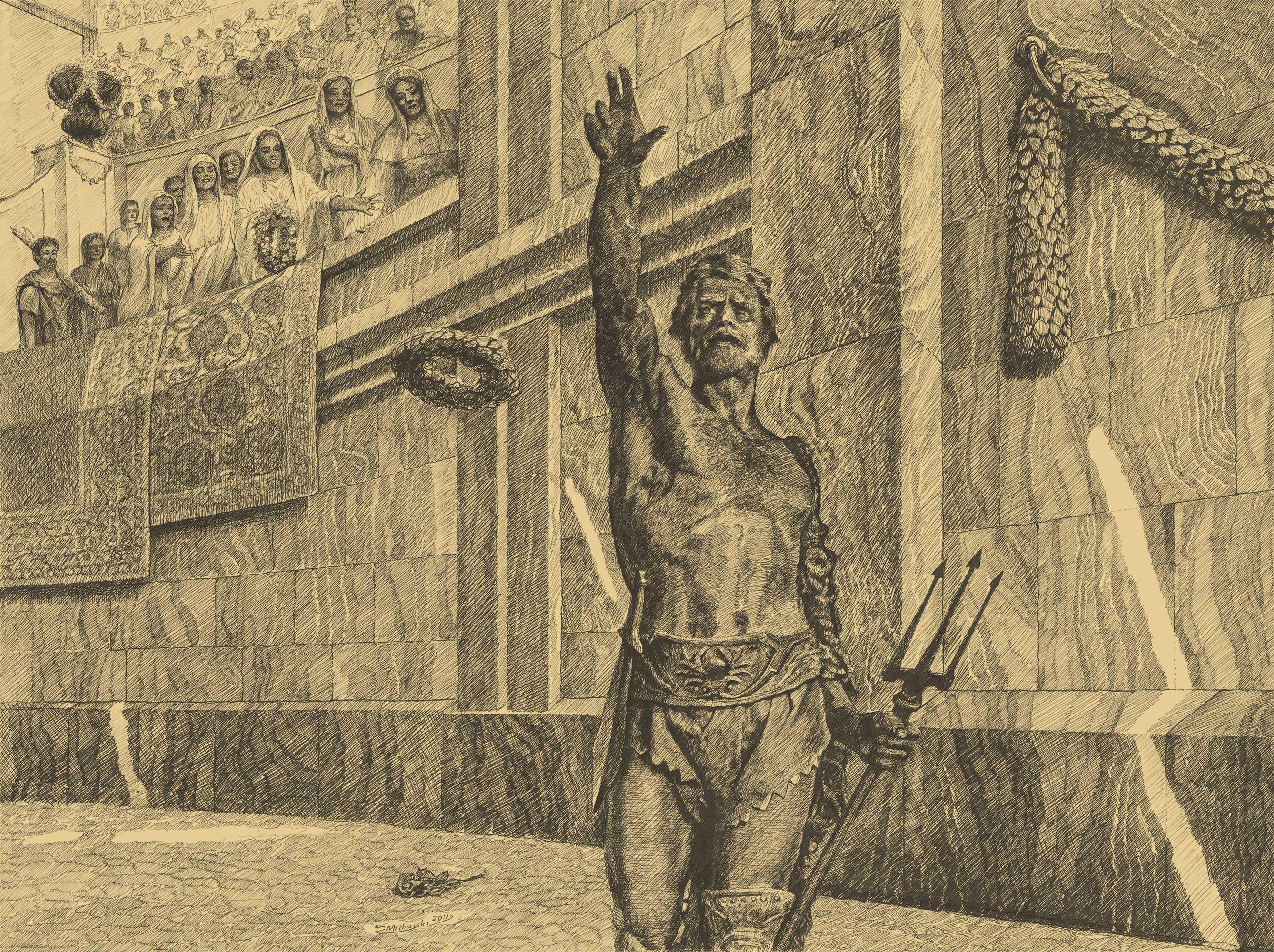 Retiarius: Before the Fight