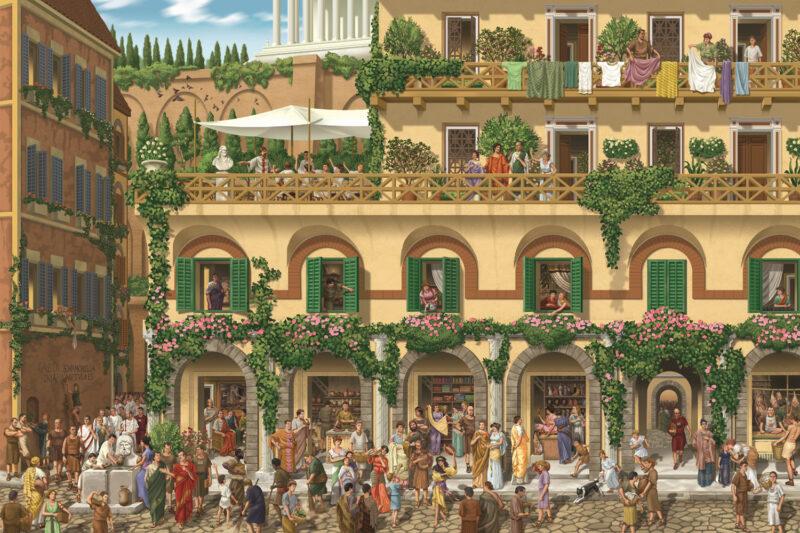 PRO ROMANIS ART Insula Marcia