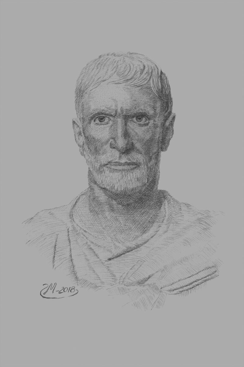 PRO ROMANIS ART Brutus - B&W