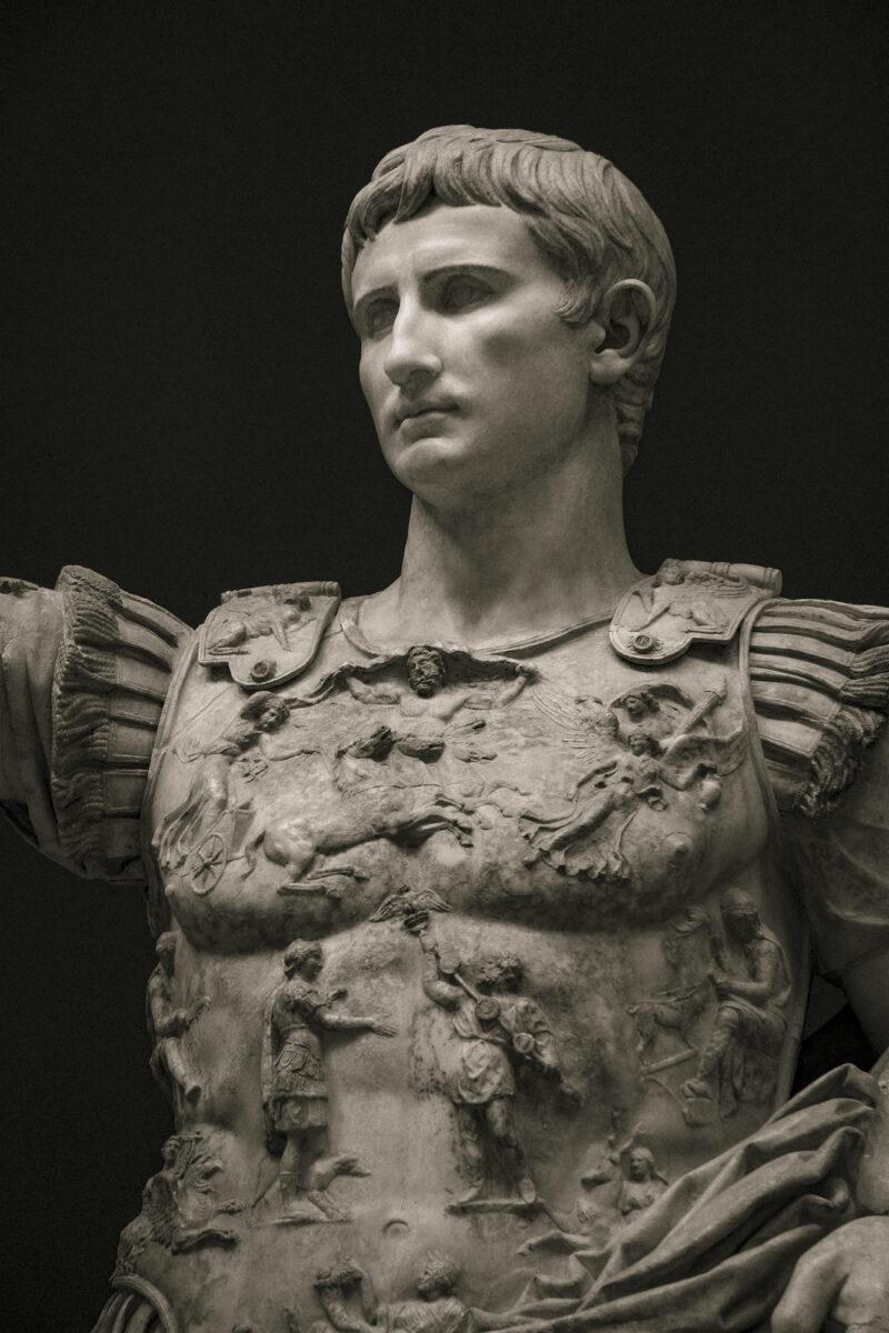 PRO ROMANIS ART Augustus Cuirass - Sepia