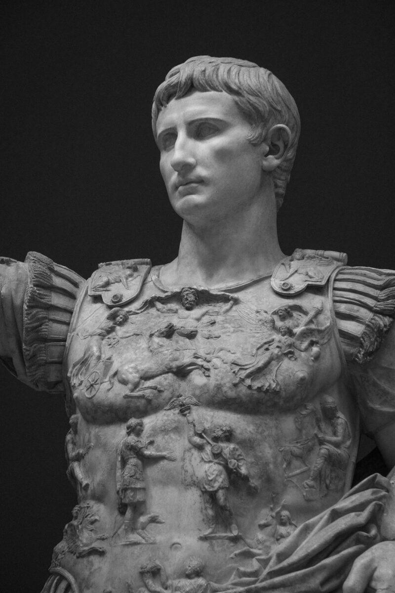 PRO ROMANIS ART Augustus Cuirass - B&W
