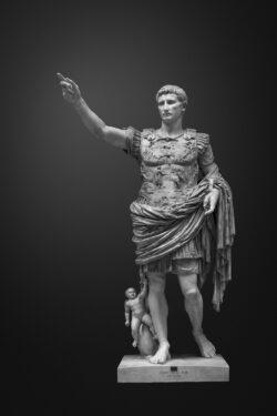 PRO ROMANIS ART Augustus Prima Porta - B&W